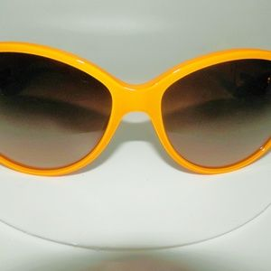 AUT Chanel Rare Yellow 1350 White Cc 58mm Sunglass